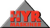 logga B&Å Hyrmaskiner